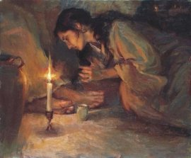 Mary Magdalene Jesus Feet